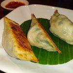 Wagyu dumpling.