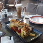 Fabulous snacks and drinks at Colors Cafe