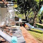 Zebra Garden Suite, Terrace & Garden
