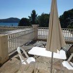 Grand Hôtel Les Lecques_St Cyr s/Mer_Terrasse de notre chambre