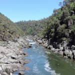 Beautiful walk at the Cataract Gorge Reserve near Launceston