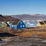 Abandoned fishing village, now an expensive weekend island retreat