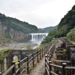 沈堕の滝と沈堕発電所跡