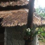 Vue du toit des toilettes à côté de la réception