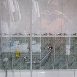 Dusche praktisch teilweise klappbar