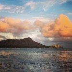 Diamondhead from Waikiki Beach