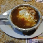 This is the French Onion Soup.