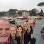 Rome with 6 ladies