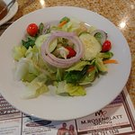 This is the house salad.