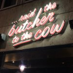 Said The Butcher To The Cow Foto