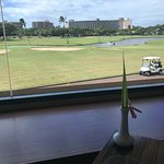 View of golf course from Roy's