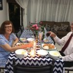 Our 50th Dinner, and on the house.