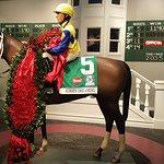 Inside the museum-ALWAYS DREAMING, winner of the 2017 Kentucky Derby
