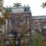 Die Hofburg und der Burggarten