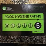 5 star food hygiene rating 04/10/2017