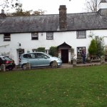 The ancient Royal Oak Inn Meavy