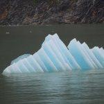 interesting shape of ice floe