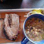 Brisket with Black-eyed Peas