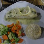 lemon caper halibut