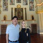 Inside the Palacio del Obispo.