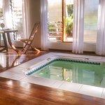 Bure 2, the hidden spa pool