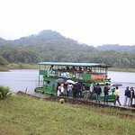 The cruise at Periyar