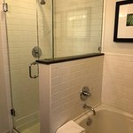 Master ensuite, full size tub, plus shower