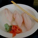 Cobia   sushi