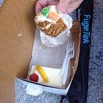 Limoncello and carrot cake