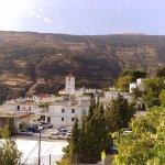 Vistas hacia el centro de Capileira