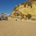 Praia da Oura Foto