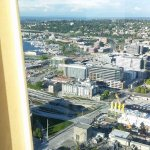 Reaching the top in 42 seconds - 'Space Needle' @ Seattle