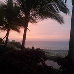 Sonnenaufgang vom Meerblickzimmer aus