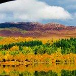 around kingussie autumn