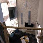 Hall de l'hôtel - vue du 1er étage