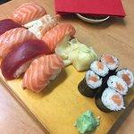Die Klassiker Sushi Platte. Immer wieder perfekt