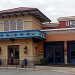 front of, entrance to & outdoor seating at Uncle Julio's Fine Mexican Food