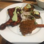 Tandoori Roast Chicken and Lamb Masala