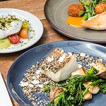 selection of dishes at The Great Chase