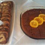 Die frische Kuchen!