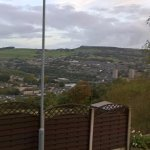 View of Sowerby Bridge from front of hotel