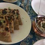 Tasty parotha and sweet dishes !!