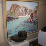 Part of the exhibition of the Crinan Gallery.