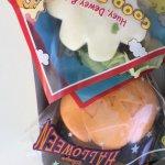 Mickey hands bun and a Halloween themed bun