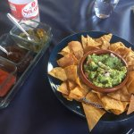 Impresionante cochinita pibil y nachos con guacamole !