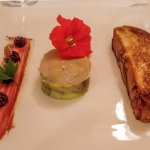 If you have the foie gras with brioche, take it with a glass of Macvin.