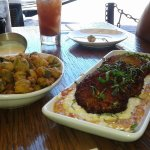 Fried okra and fried green tomatoes