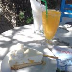 the special almond & citrus drink + yoghurt cake