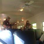 Live music on train ride