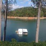 House on lake